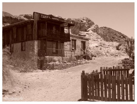 Calico Ghost Town by silverlining86