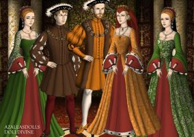 The family of Henry VIII by Lucrecia-89