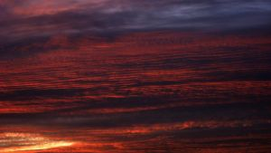 The Red Sea of Clouds by Ceejay8887