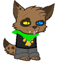 Fandomstuck: Furry Fandom Sprite by g-ryphon