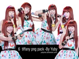 6 Tiffany png pack-By Yuby by yubytran