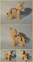 Sunshine Teething Toy in Maple by xofox