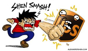 Mr. Shen - Shen Smash UPS by soks2626