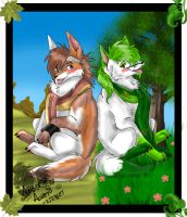Lefa and Kumal gift by PinkScooby54
