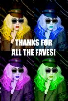 Thank You For All The Faves by gagasmonsters