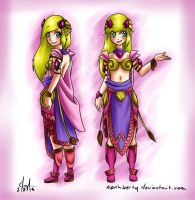 Zelda - Redesign Contest by KevinWerty