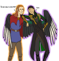 The Further Adventures of Loki and Eris by Azvolrien