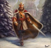 Russian King Arthur by PTimm