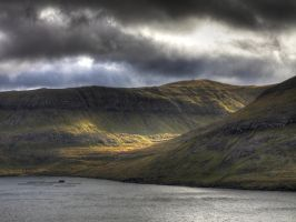 Mountains on Vagar by Black-Dragon-High