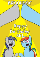 Happy Belated Birthday Alioopster! by afroquackster