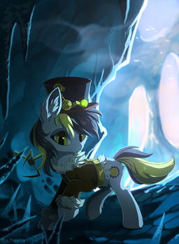 Ice cave by hioshiru-alter