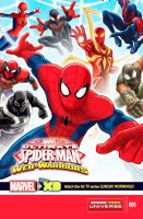 Ultimate Spider-Man Web Warriors by SpiderTiger14