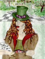 Mad Hatter by Alaminia