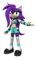 Commission: Rayna the hedgehog by Argos90