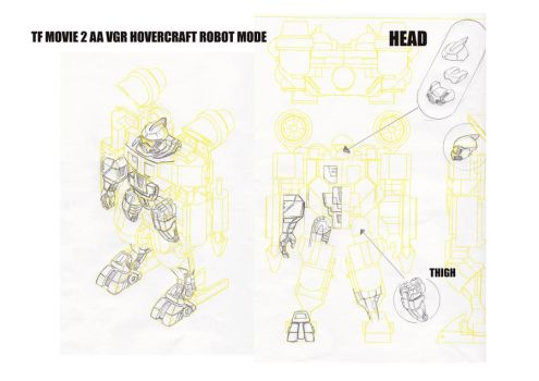 Transformers Classic Seaspray Design Sketches. by alexanderkubalsky