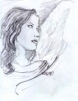Portrait of an Angel by napalmnacey