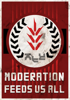 Moderation Feed Us All by ropa-to