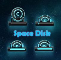 Space disk for xwidget by kenneth117