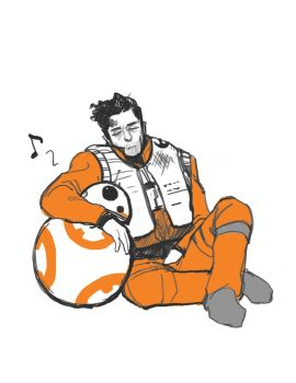 tired poe by Accolay