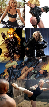 Yvonne Strahovski as Black Canary for the DCU by Omnipotrent