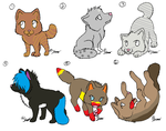 Wolf Adoptables by jpmouse66