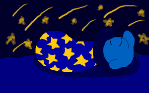 Me Sleeping - Basic Version by StarBoy91