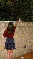 My first greek Cat by evalunaofficial