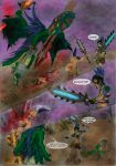 The birth of Huitzopoca part 4 of 5 by Guiler-717