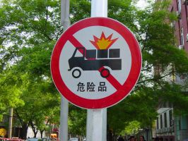 No Exploding Trucks by LittleBrownLee