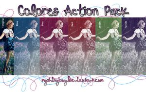 Colores Action Pack by MyShinyBoy