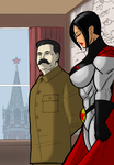 The Man of Steel and the Superwoman by Soviet-Superwoman