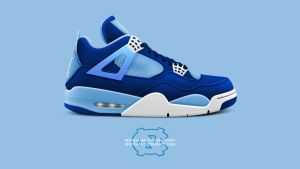 Air Jordan 4 'UNC' by BBoyKai91