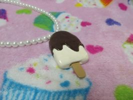 FOR SALE Ice cream bar necklace by Ringo-Chu