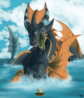 Sea Dragon by xBlackfangx