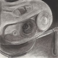 Object Series - Charcoal Close by silverz777