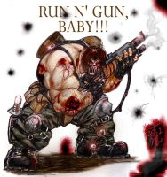 Run n Gun Baby by thedarkcloak