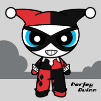 Side: Puff - Harley Quinn by BucketHat