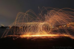 first experiments with steel wool 2 by MT-Photografien