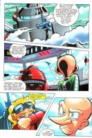 Sonic the Hedgehog Comic 177 by Robot521