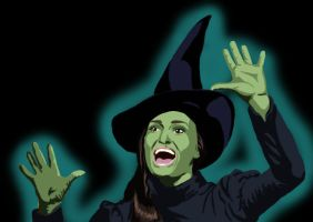 Elphaba cartoon by DryEyez