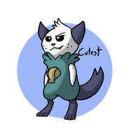 Pokeddex Day 28 - (Oshawott) by Kame-Ghost