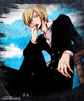 Smokin' Sanji edit by AnnaHiwatari