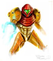 Samus by LordHannu