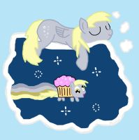 Nyan Derpy Dreams by k9saurus