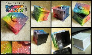 Rainbow Galaxy Box by aneesah