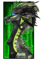 .:Commission:..:Aurin:. by Dark-Spine-Dragon