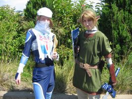 Sheik and Link by Marie-Ange-the-Celt