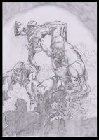Hulk vs the chitauri by antt029