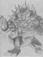 Giga Bowser by rarkorn