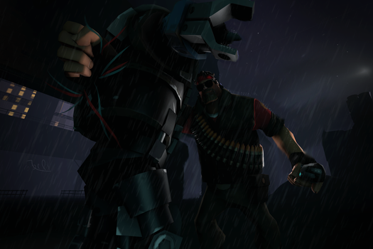 (SFM REQUEST) The boss by CobaltDrawing